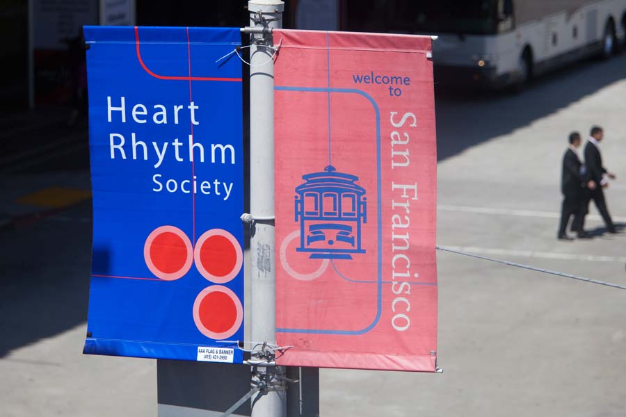 Ads at the Heart Rhythm Society S.F. 2011 convention