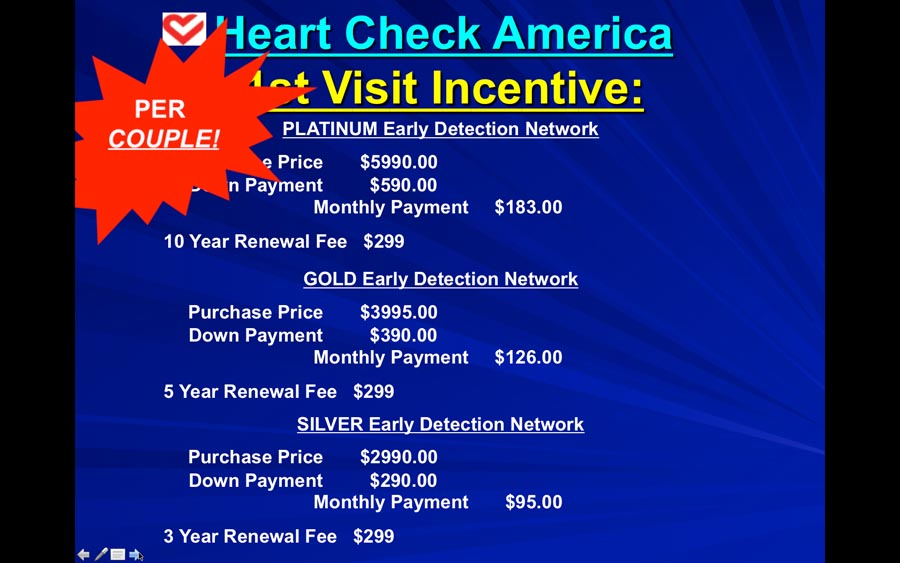 Heart Check America PowerPoint Slide