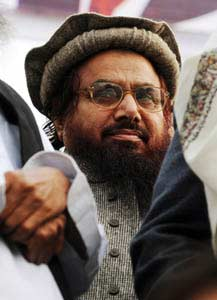 Hafiz Saeed, the spiritual leader of Lashkar. (Photo by Arif Ali/AFP/Getty Images)