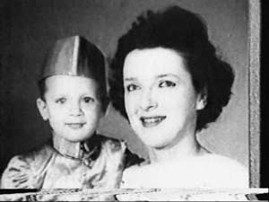 David Headley, born Daood Gilani, with his mother, Serrill Headley.