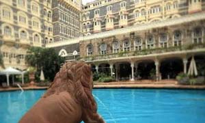 The Taj Mahal Palace Hotel, rebuilt after the 2008 attacks. (PBS FRONTLINE)