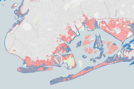 Federal flood maps left new york unprepared for sandy propublica new york citys flood insurance maps released by fema in 2007 are based on older technology and an older storm surge model sciox Image collections