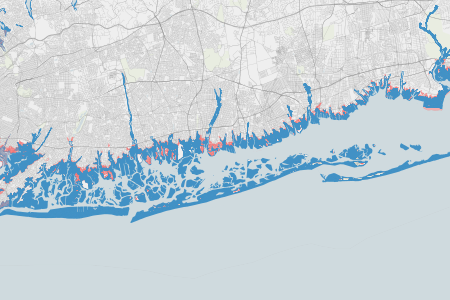 Federal flood maps left new york unprepared for sandy propublica nassau sciox Image collections