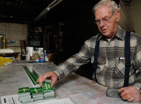 Last year Don Miller had to lay off two of the three workers at his sign printing business in Norfolk, Va., because of slumping business.